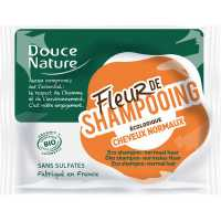 Fleur de shampooing cheveux normaux (shampoing solide)